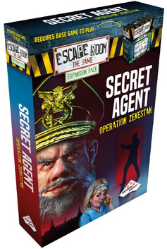 Escape Room the Game Secret Agent (Expansion)