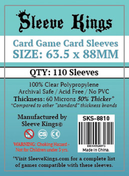 Sleeve Kings 63.5x88mm
