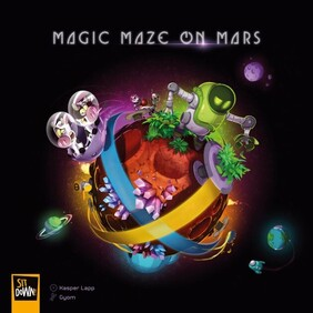 Magic Maze on Mars