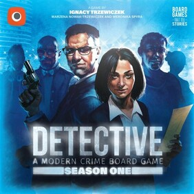 Detective: A Modern Crime Board Game - Season 1